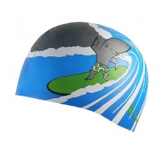 Swim Cap Surf Shark